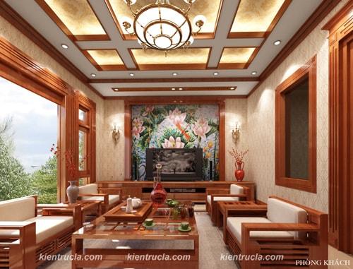 Thiết kế nội thất kiến trúc nhà đẹp