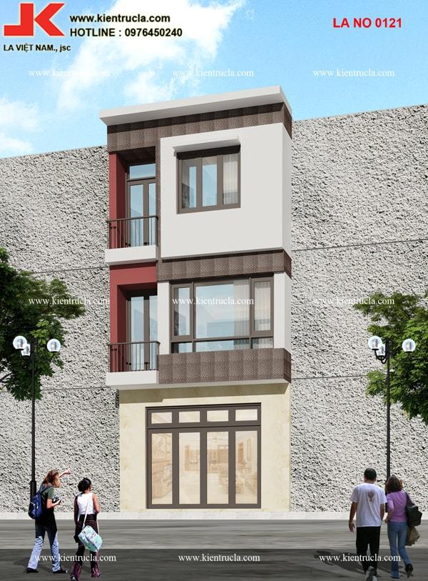 Nhà phố 3 tầng hiện đại nhà bà Mỹ 1
