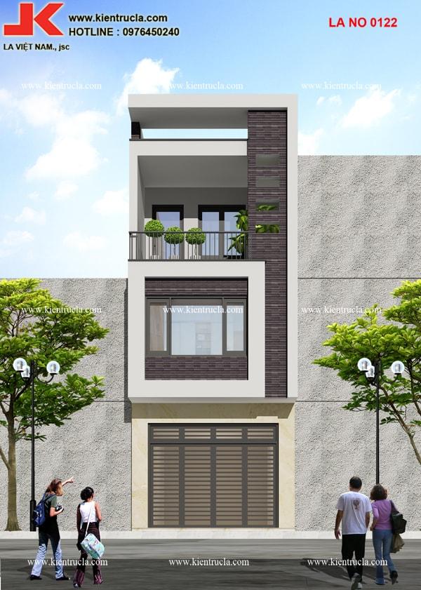 Nhà phố 3 tầng hiện đại nhà ông Phong