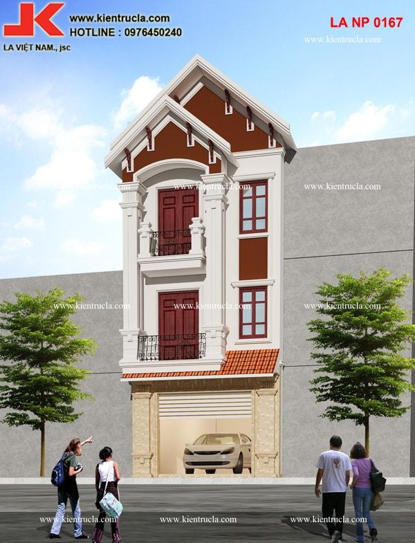 nhà phố 3 tầng pháp