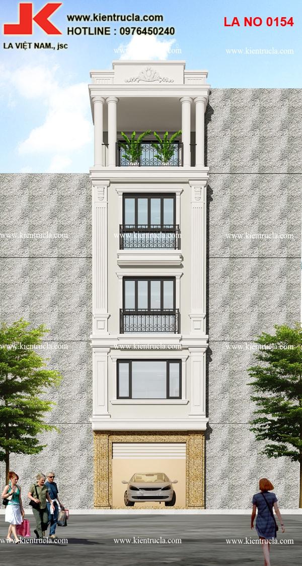 nhà phố 5 tầng pháp 154