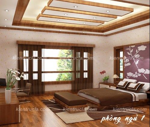 Mẫu thiết kế nội thất nhà đẹp phòng ngủ