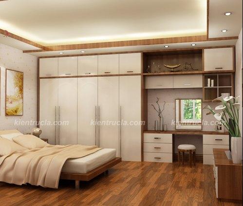 Hình ảnh cho phòng ngủ trong căn hộ chung cư