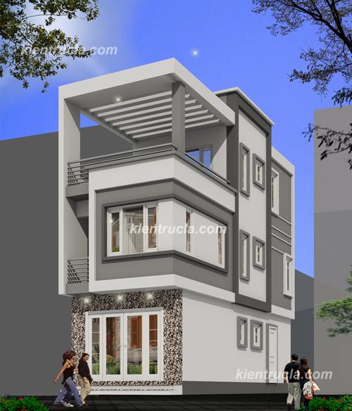 Công ty thiết kế xây dựng - nhà phố