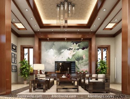 Nội Thất Biệt Thự Đẹp Nhà Bà Minh