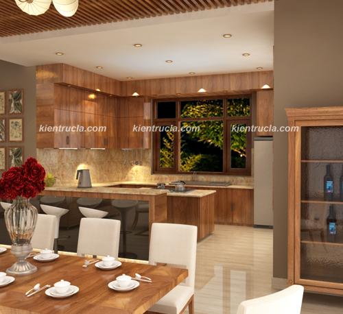 Tư vấn thiết kế nội thất phòng ăn